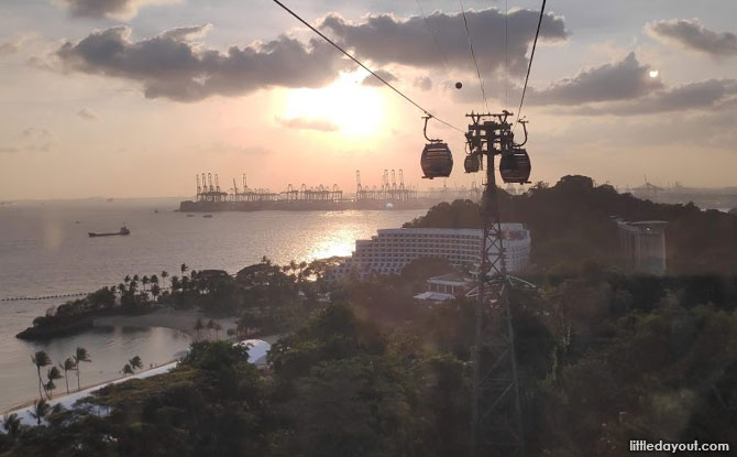 Singapore Cable Car & One Faber Group - National Day 2020 activities