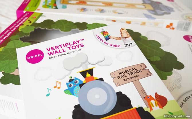 Oribel's VertiPlay Wall Toys