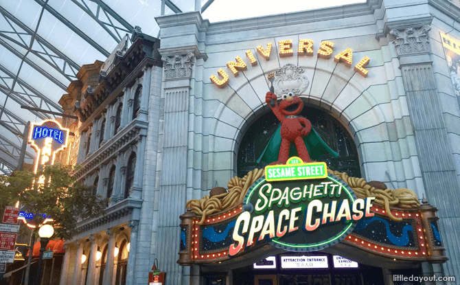 Universal Studios Spaghetti Space Chase