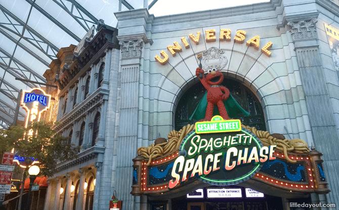 Universal Studios Spaghetti Space Chase