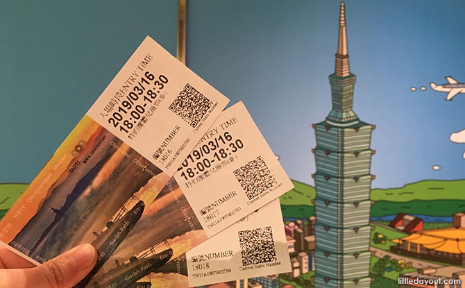 Tickets for Taipei 101