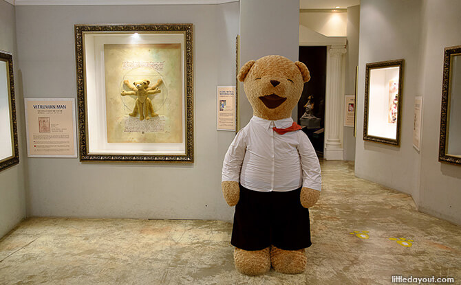 Da Vinci Teddy Bear