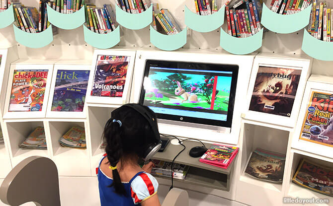 Revamped Bukit Panjang Library Children's Zone