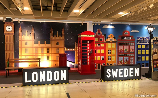 London and Sweden