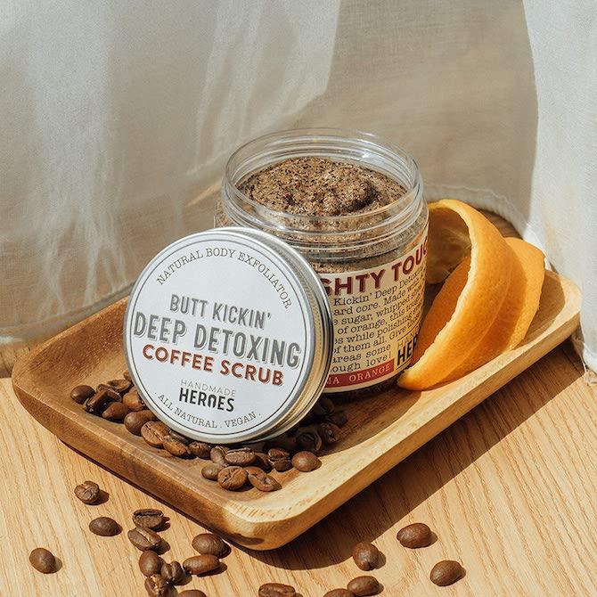 e12 Handmade Heroes Coffee Scrub