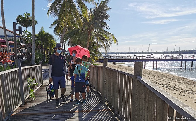 Journey To The East: Little Day Out's Family Eco-Adventure @ Changi