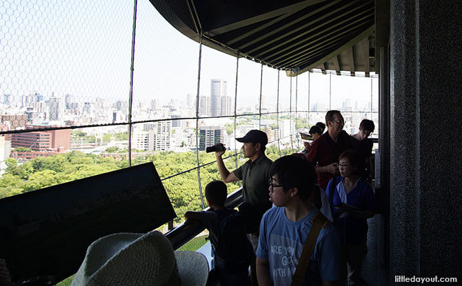 View from the observation deck