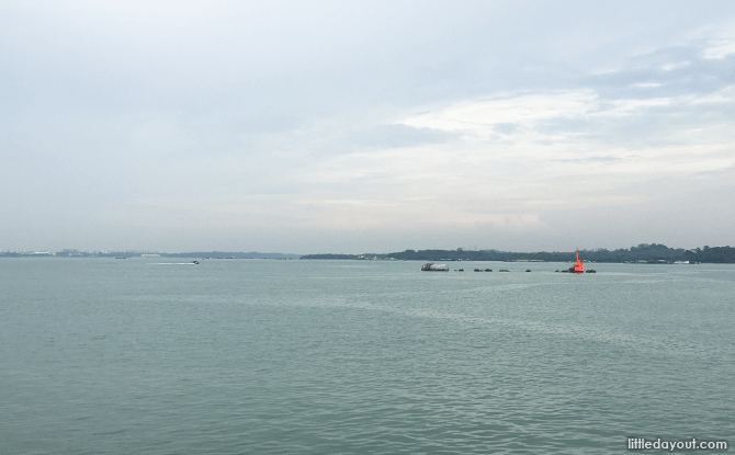 View from Sunset Walk, Changi Boardwalk