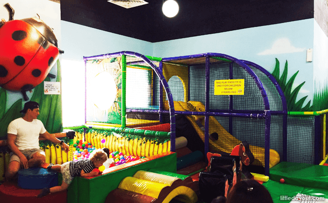 Play area for toddlers