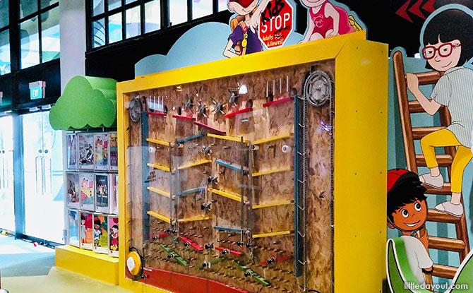 KidsSTOP Singapore Visit