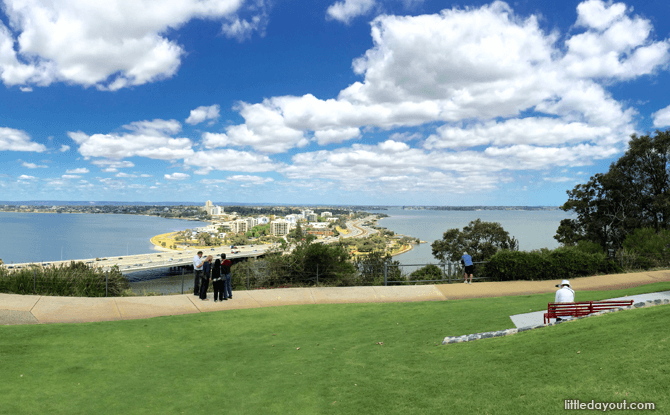 Kings Park View - Perth Holiday with Kids