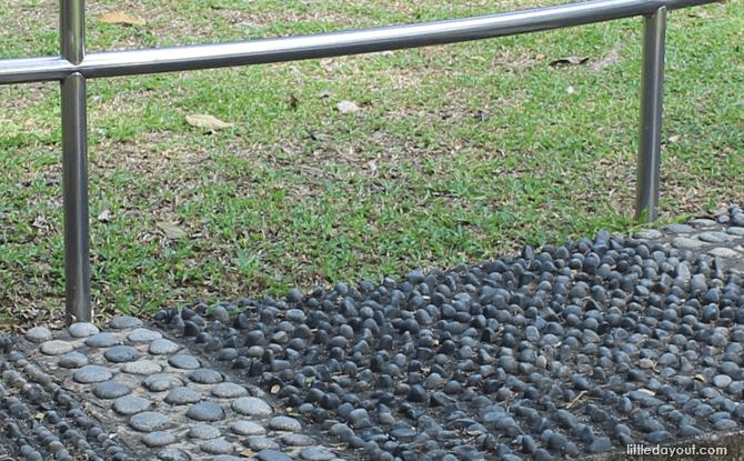 Reflexology path at Punggol Park