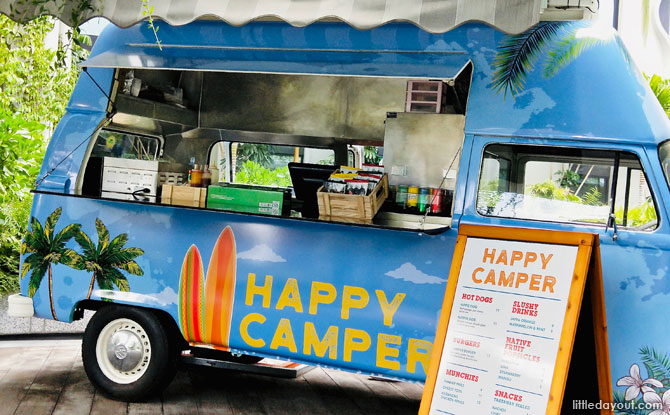 Kombi VW Van Food Truck