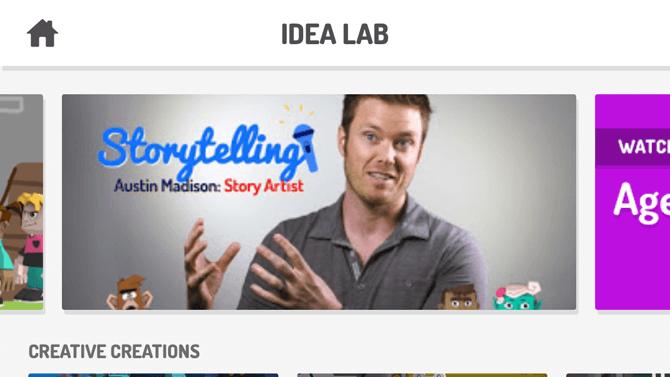 Idea Lab, Toontastic 3D
