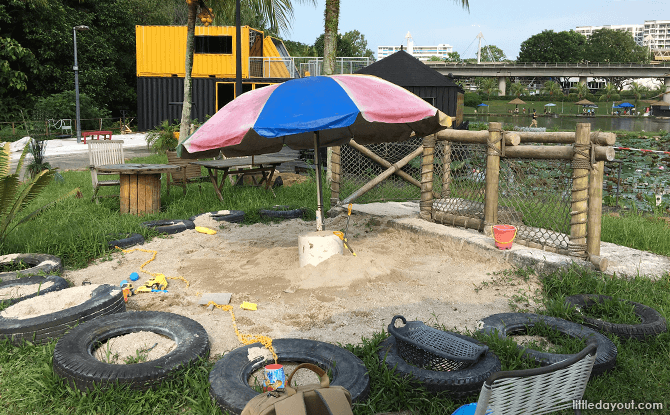 Sand Play Area at Diggersite