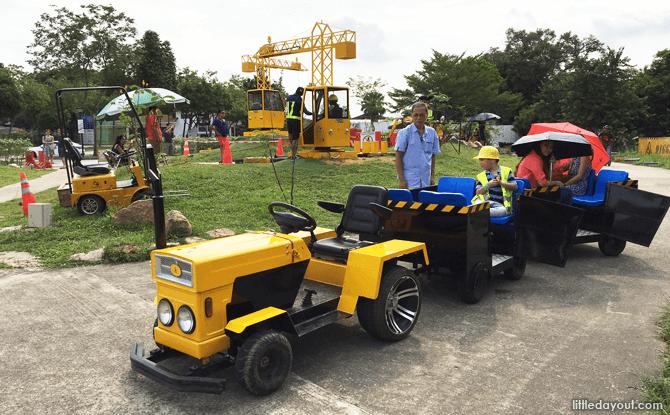 Mine Tractor Ride