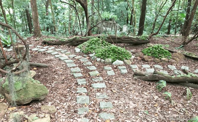 Imbiah Trail, Mount Imbiah, Sentosa