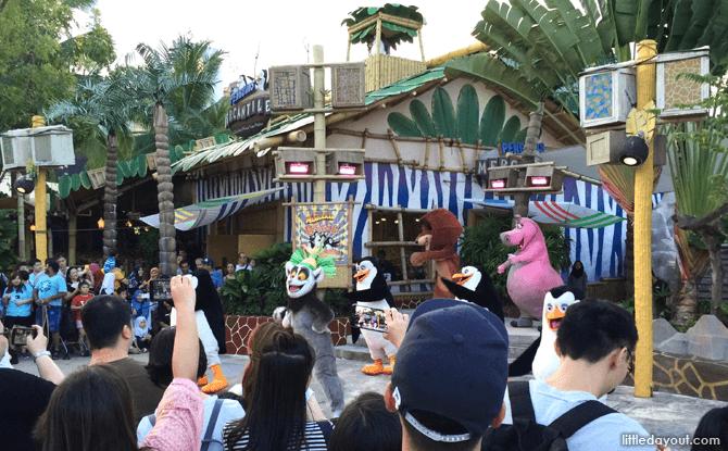 Universal Studios Madagascar Boogie