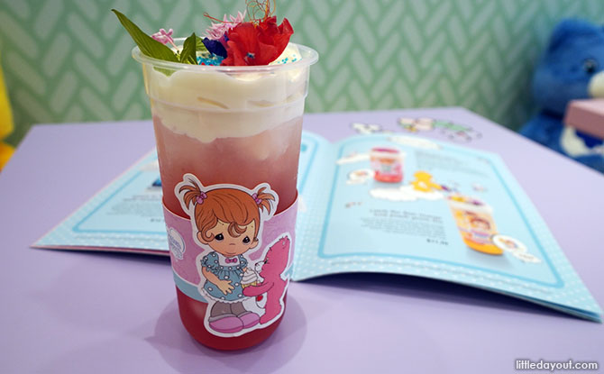 Follow Your Heart at Precious Moments and Care Bear Cafe