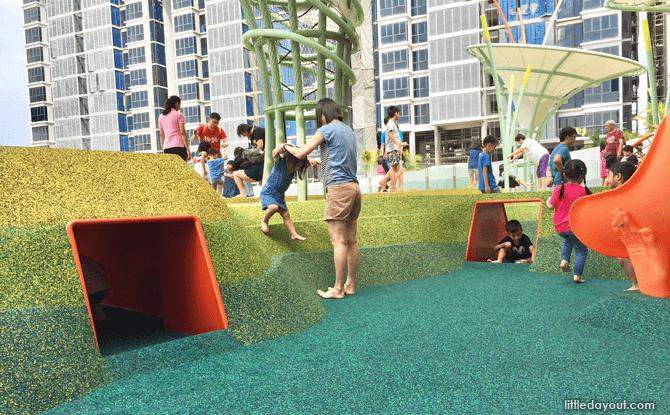 Waterway Point playground rabbit hole