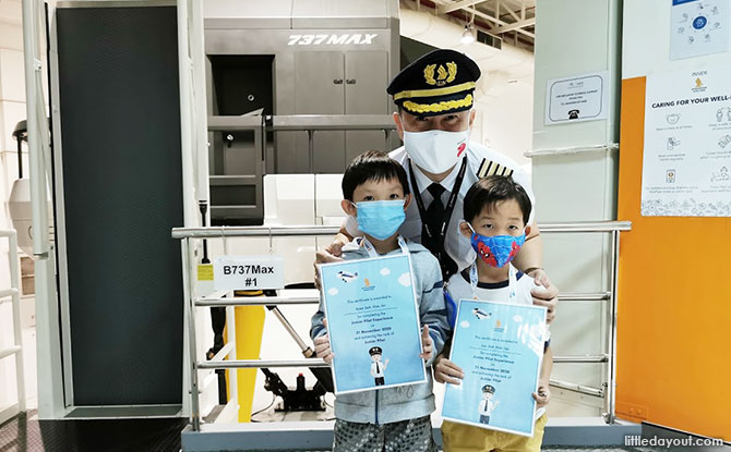 Singapore Airlines Junior Pilot Experience