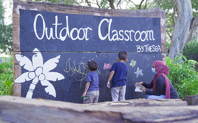 Outdoor Classroom by the Sea