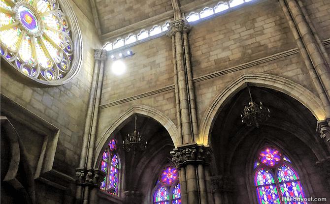 Interior of Saint Denis Church