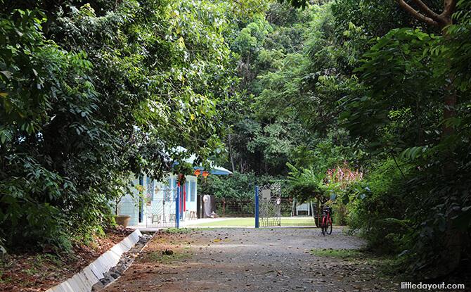 Pulau Ubin Chinese Kampong House: Courtyard