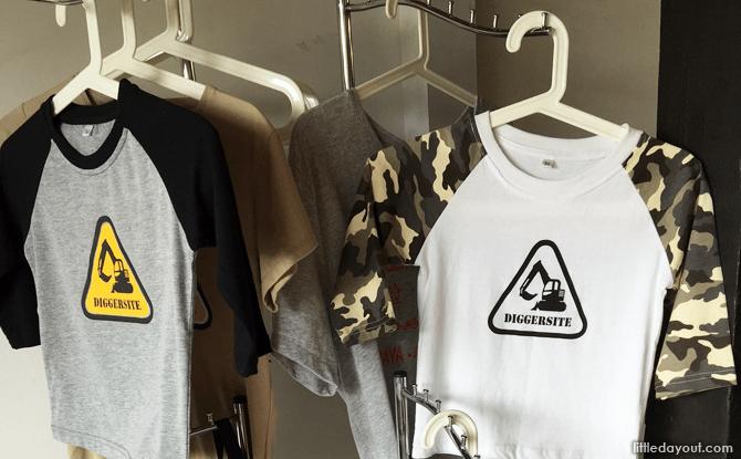 Diggersite Merchandise for Sale