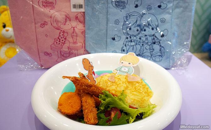 Spread the Love Seafood Tempura rice