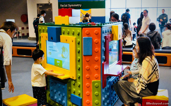 Play stations at the Hong Kong Science Museum