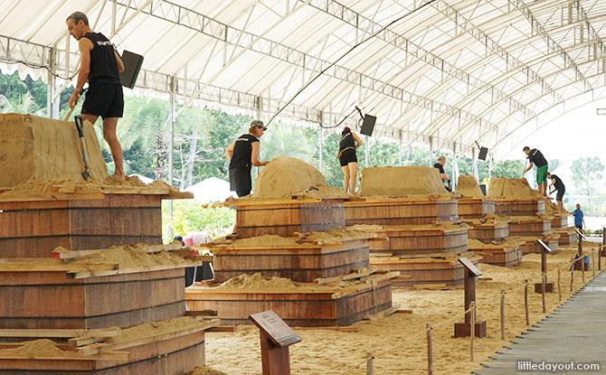 Sentosa International Sand Sculpting Competition 2019