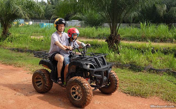 Thrills on the ATV