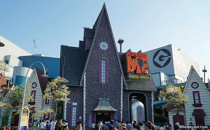 Despicable Me Minion Mayhem, USJ