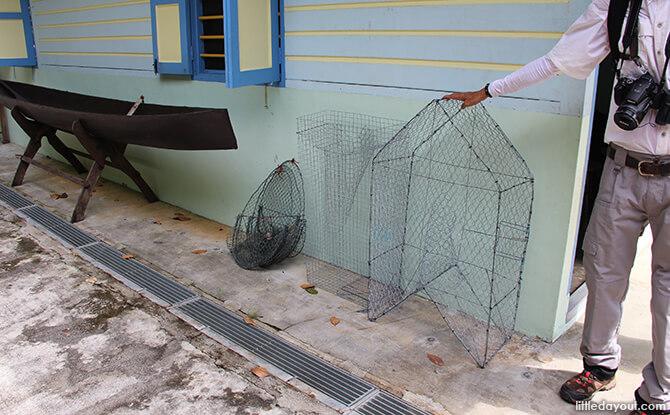 Pulau Ubin Chinese Kampong House: Fishing Gear