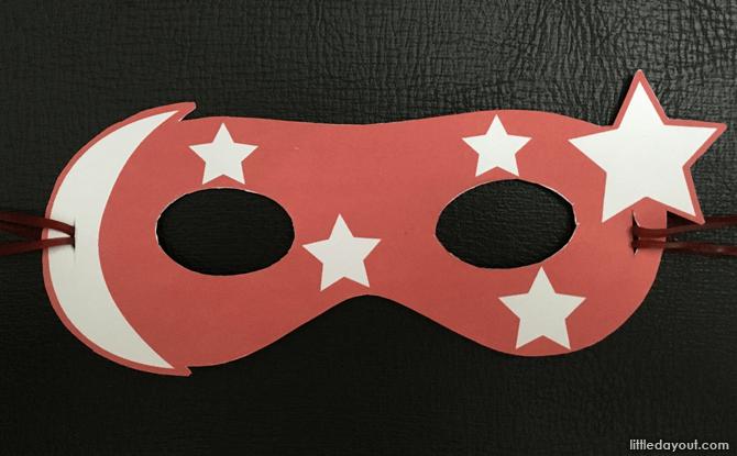 Completed Super Singaporean Mask