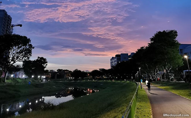 Venturing along the Scenic Route at Sungei Pandan Canal