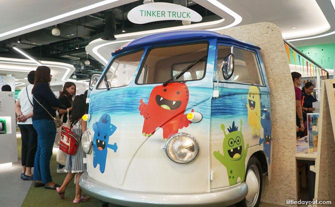 Tinker Truck, VivoCity Library