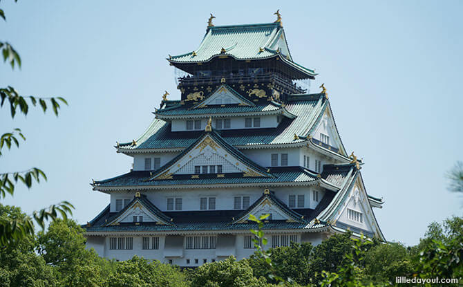 Inside Osaka Castle: Feudal Past And Commanding Views