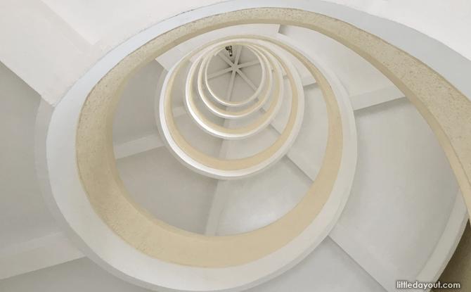 Chinese Garden pagoda stairs
