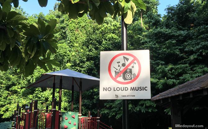 Bukit Batok Nature Park signage