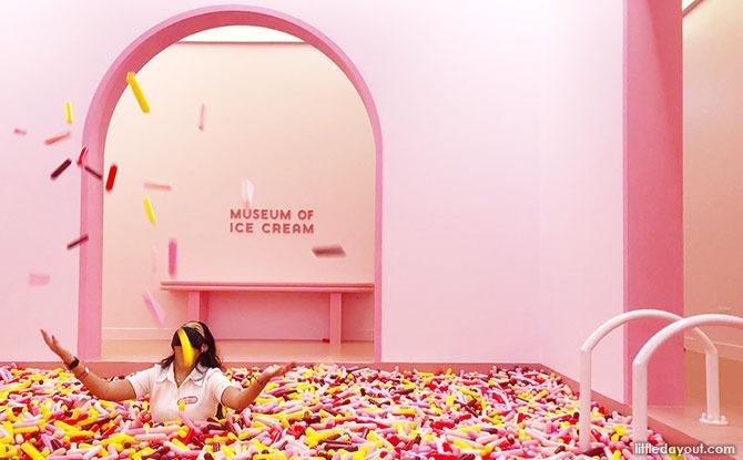 Museum of Ice Cream Singapore's Sprinkle Pool