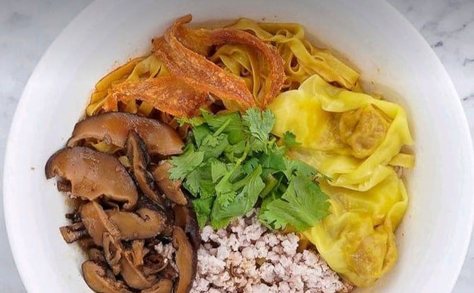 Bak Chor Mee - Ah Kow Mushroom Minced Pork Mee