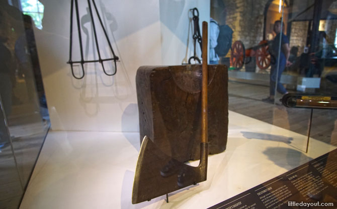 Executioner's Block, Tower of London