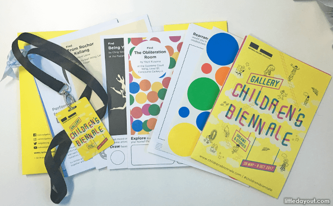 Children's Biennale 2017 Art Pack