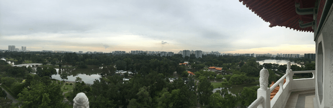 Chinese Garden view