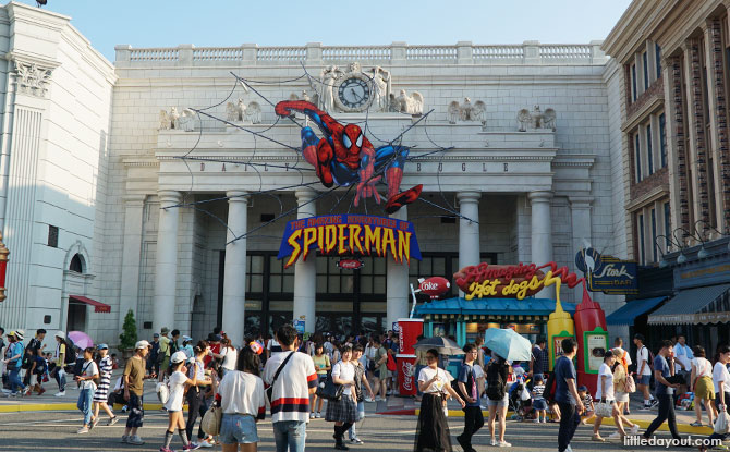 The Amazing Adventures of Spider-Man – The Ride