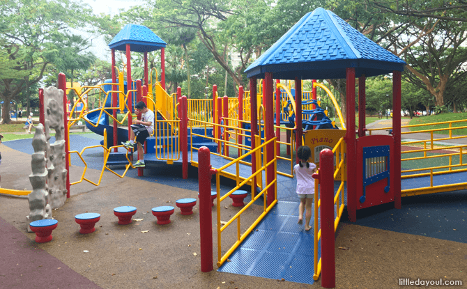 Inclusive Playground at West Coast Park Playground