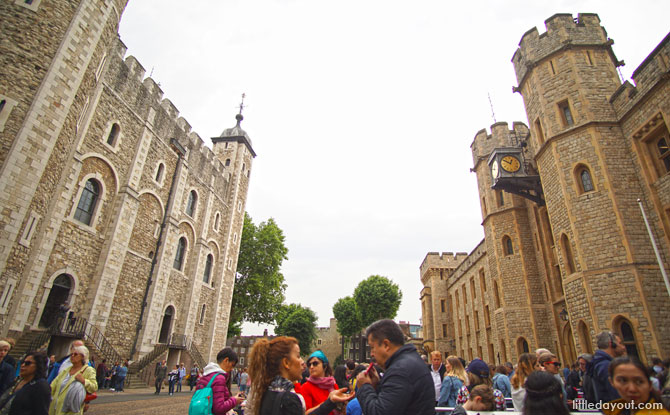 Visiting the Tower of London, a must-do when in London with kids