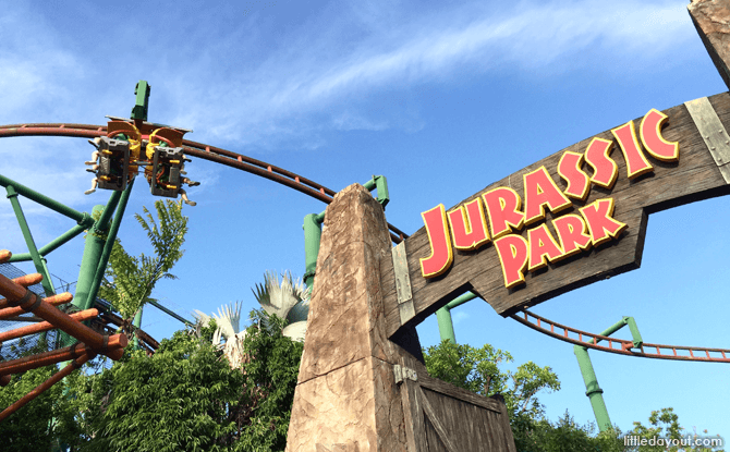 Universal Studios Canopy Flyer
